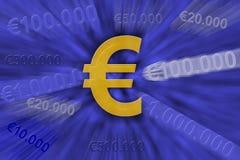 Euro resistenza Immagine Stock