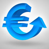 Euro Rise Stock Photos