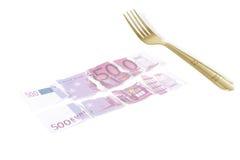 euro rozwidlenie Obraz Royalty Free