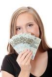 Euro rubio adolescente Fotografía de archivo libre de regalías