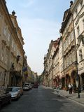 Euro rues Photos libres de droits