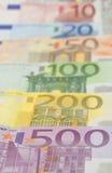 Euro `s Stock Foto