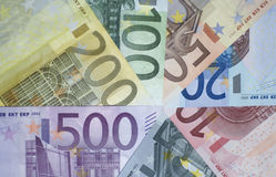 Euro `s Royalty-vrije Stock Foto's