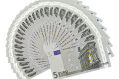 Euro's fans Stock Photography
