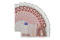 Euro's fans Royalty Free Stock Photography