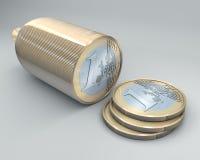 Euro sausage Royalty Free Stock Image