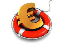 Euro saving Royalty Free Stock Images