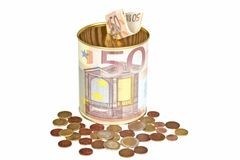 Euro savings Royalty Free Stock Images