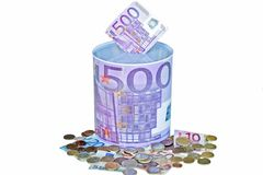 Euro savings Royalty Free Stock Photos