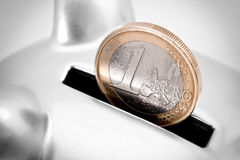 Euro savings concept Stock Photos