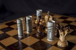 Euro-scacchi Immagine Stock