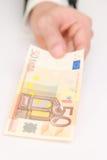 50-Euro - Schein Lizenzfreie Stockfotos