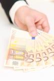 50-Euro - Scheine Stockfoto