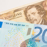 Euro - Schilling - Better Before or After Stock Photography
