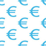 Euro seamless pattern Royalty Free Stock Photography