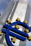 Euro segno Fotografie Stock Libere da Diritti
