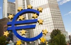 Euro segno Fotografia Stock
