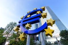 Euro segno Immagine Stock Libera da Diritti