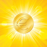 Euro Shall Rise Again Royalty Free Stock Images