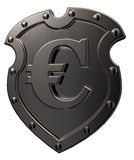 Euro shield Stock Photography