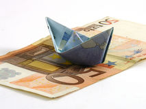 Euro ship Royalty Free Stock Photography