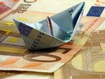 Euro ship Royalty Free Stock Photos