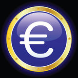 Euro Sign. Vector illustration of an euro sign Royalty Free Stock Photography