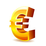 Euro sign Royalty Free Stock Photos