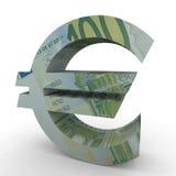 Euro sign. / symbol isolated on white background Royalty Free Stock Photo