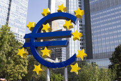 Euro Sign Royalty Free Stock Photo