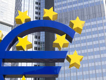 Euro Sign Stock Photo