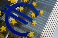 Euro Sign, Frankfurt Stock Image