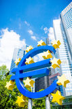 Euro Sign Stock Image