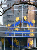 Euro Sign reflected Royalty Free Stock Photo