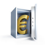 Euro sign sefe Royalty Free Stock Photography