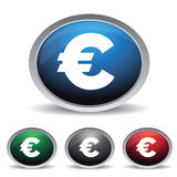 Euro sign vector Royalty Free Stock Photography