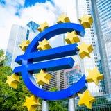 Euro signe Images stock