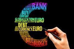 Euro signe Photographie stock libre de droits