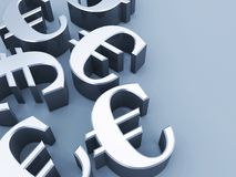 Euro signs Stock Photos