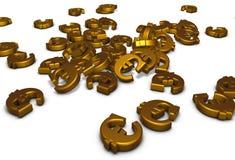 Euro simboli Fotografia Stock