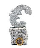 Euro simbolo Fotografia Stock