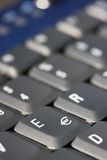 Euro--sinal no teclado foto de stock royalty free