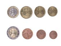 Euro slovacco Fotografia Stock Libera da Diritti