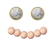 Euro smile Royalty Free Stock Photo