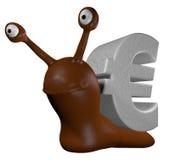 Euro snail Stock Image