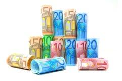 Euro soldi Immagini Stock Libere da Diritti