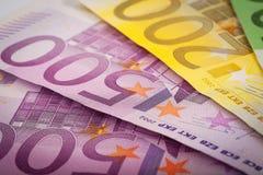 Euro soldi Immagine Stock Libera da Diritti