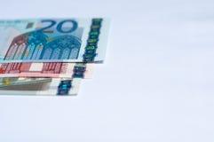 Euro soldi Fotografie Stock Libere da Diritti