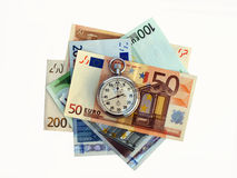 Euro - Speed And Good Luck! Royalty Free Stock Photo
