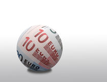 Euro sphere Stock Images